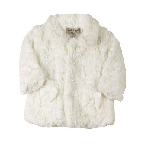 hermoso abrigo bebé super suave tipo mink rosa blanco fiesta