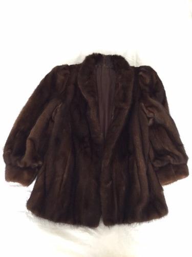 hermoso abrigo de mink