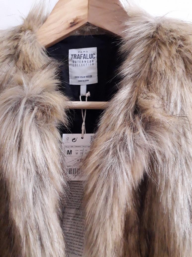 abrigo de pelo de Zara Trafaluc Chicfy