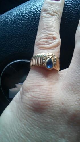 hermoso anillo de oro de 18 kl.