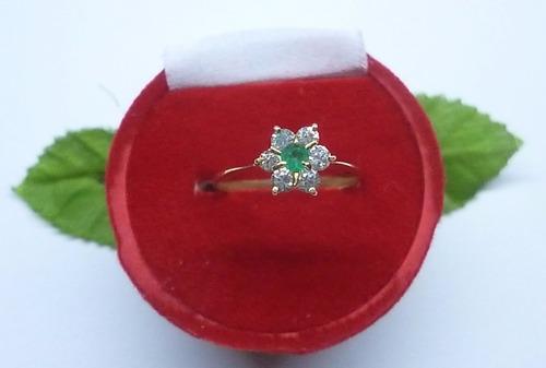 hermoso anillo marquesa y circón 1.6, plata ley 9,50m