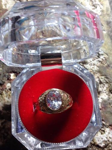 hermoso anillo para grado oro 18k