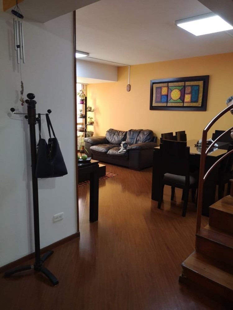 hermoso apartamento duplex,en teusaquillo, gran américa 98m2