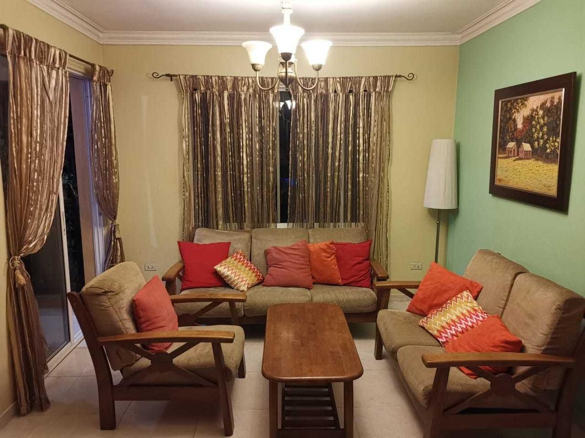 hermoso apartamento en el res. normandía villa aura santo d