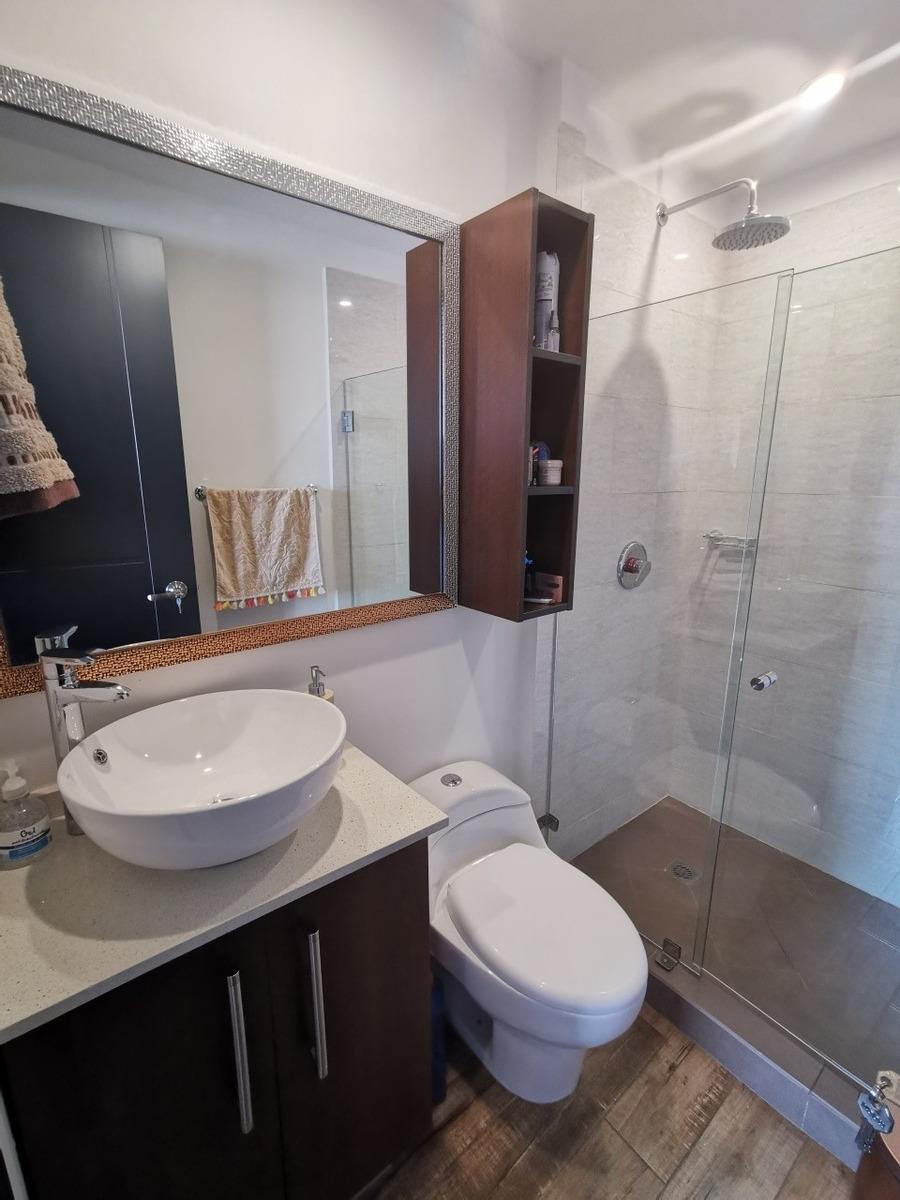 hermoso apto chapinero, 2 hab, 2 baños (1 año de uso)