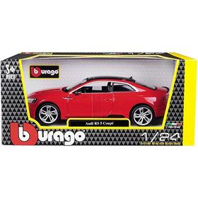 Hermoso Audi Rs 5 Coupé, Burago, Escala 1/24 ¡nuevo!