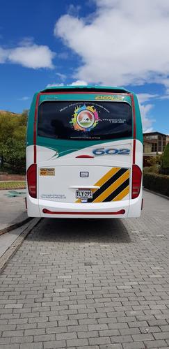 hermoso bus hino fj carroceria jgb 36 pax aire, vigias, 2013
