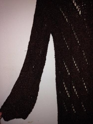 hermoso chaleco tejido a mano