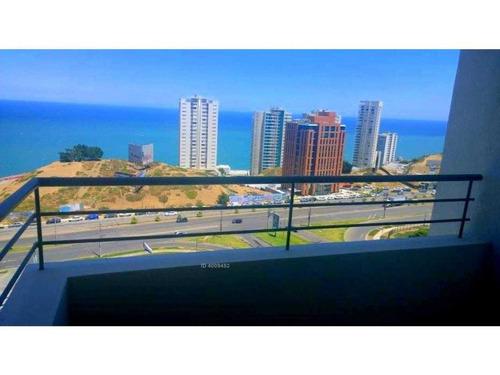 hermoso departamento con inigualable vista panoramica al mar, cercano a supermercados, farmacias y hospitales, buena locomocion