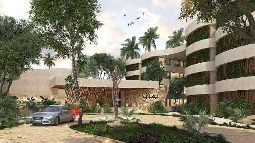 hermoso departamento con terraza en  tulum preventa