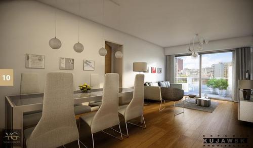 hermoso departamento en caballito 3 ambientes semipiso de categoría - amenities - en construcción