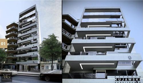 hermoso departamento en caballito 4 ambientes semipiso de categoría - amenities - en construcción