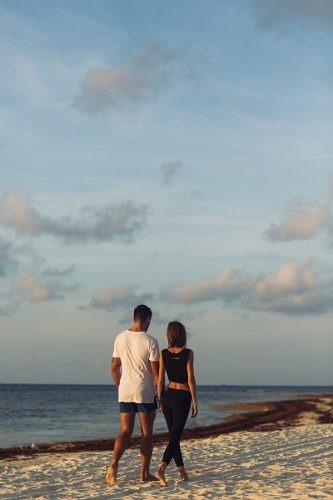 hermoso departamento en desarrollo frente al mar en playa del carmen