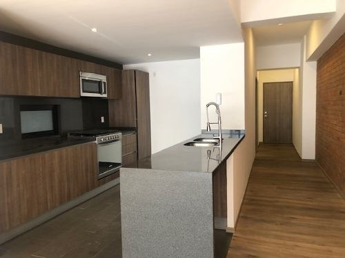 hermoso departamento en exclusivo edificio en condesa