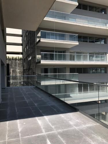 hermoso departamento en obra gris en lomas anahuac. 2 terrazas!!!