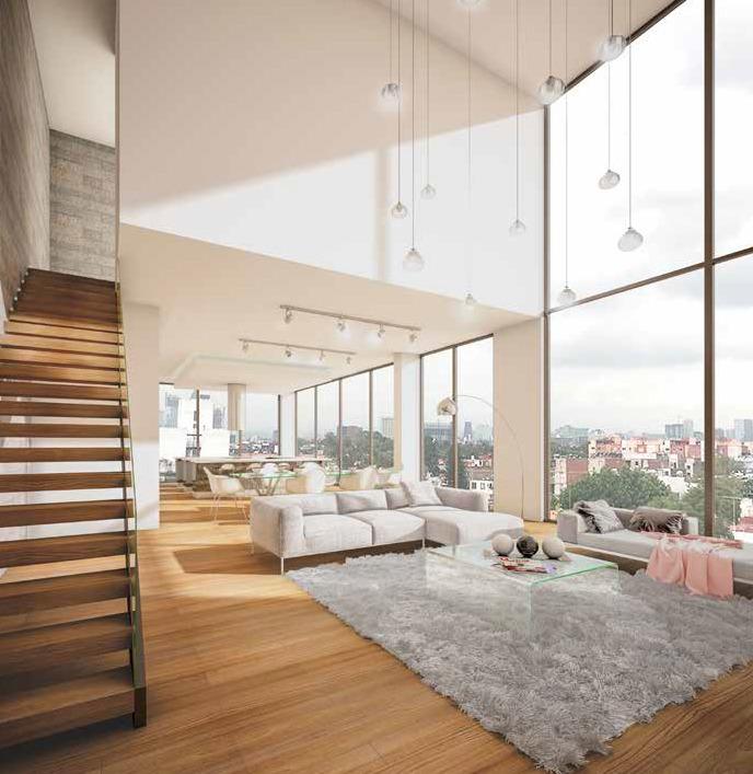 hermoso departamento en pre-venta de 181 m2 en roma sur.