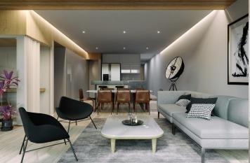 hermoso departamento en pre venta de 185 m2 en roma norte. qb