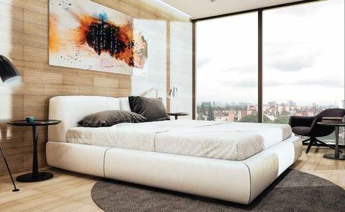hermoso departamento en pre-venta de 209 m2 en roma sur.