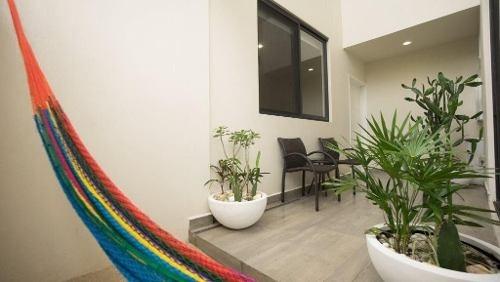 hermoso departamento en renta 1 cuadra de la playa p2420