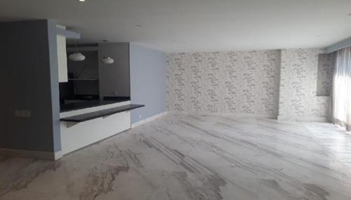 hermoso departamento en renta / venta de 184 m2 en polanco. qb