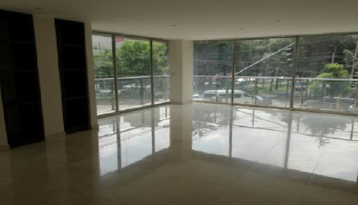 hermoso departamento en renta / venta de 205  m2 en polanco. qb