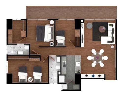 hermoso departamento en venta - 3 habitaciones