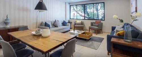 hermoso departamento en venta de 186 m2 en narvarte