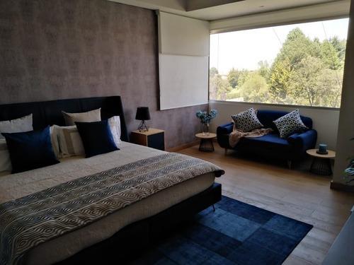 hermoso departamento en venta de 260 m2 en lomas country club. mg