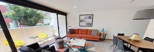 hermoso departamento en venta en la narvarte de 131 m2