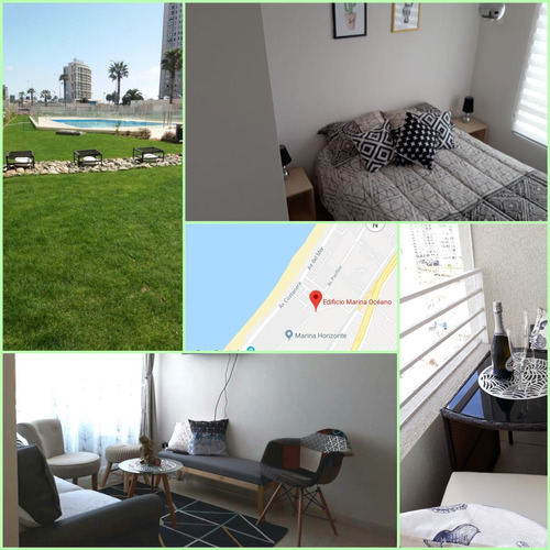 hermoso departamento sector enjoy la serena