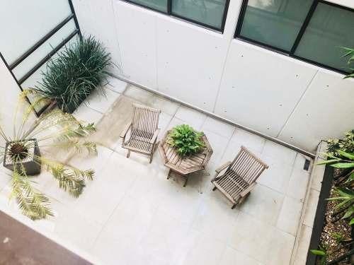 hermoso depto de dos pisos c/ terraza en  amores colonia del valle benito juárez