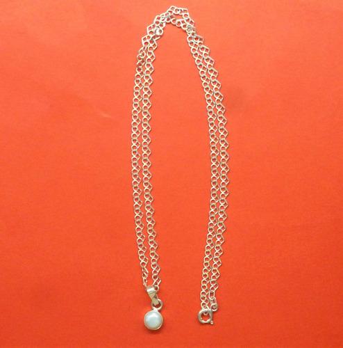 hermoso dije perla blanca cultivada,plata ley 9,50,