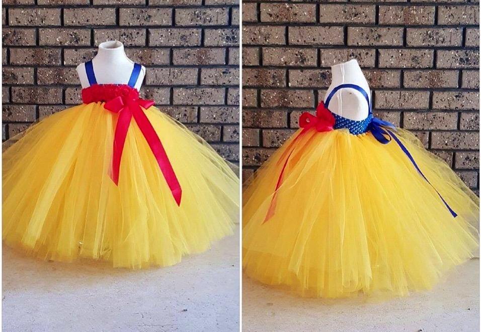 Hermoso Disfraz Blancanieves Tipo Tutu Tutus -   980.00 en Mercado Libre 6481d7aaceb