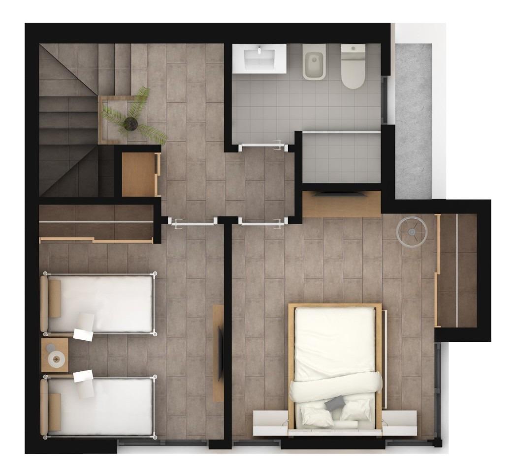 hermoso duplex 3 amb. con cochera al pozo en monte grande