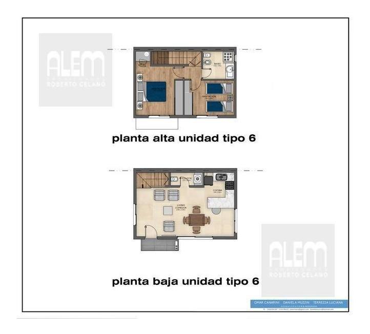 hermoso dúplex en mármol - 2 dormitorios