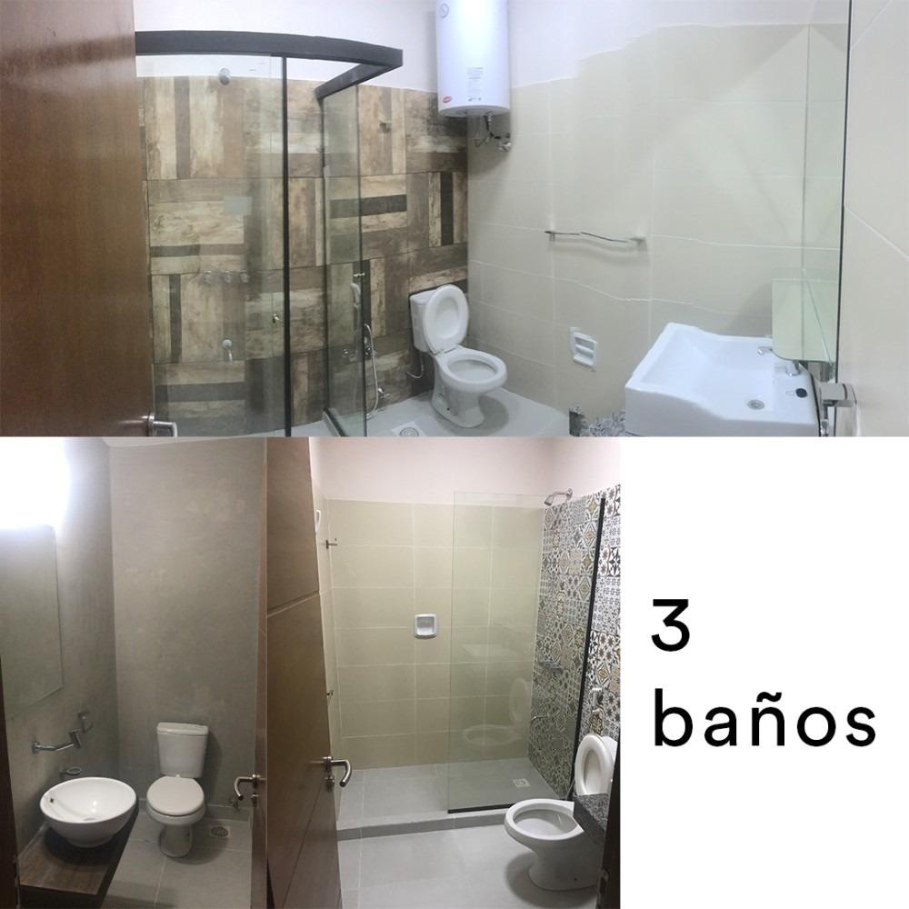 hermoso duplex moderno de 5 ambientes y 3 baños
