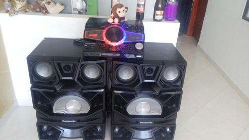 hermoso equipo de sonido panasonic sa max9000 full sonido