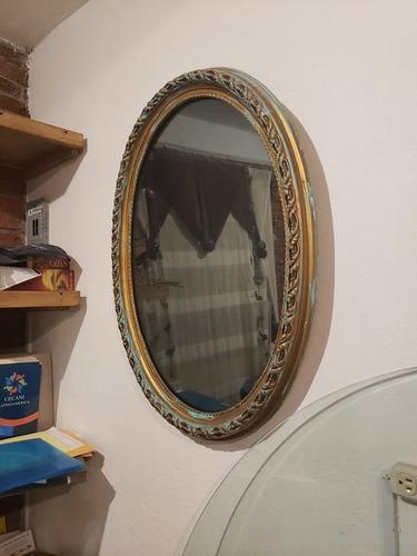 hermoso espejo antiguo vintage 90 x 70 cm