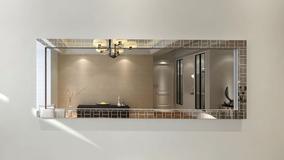 fotos de espejos decorativos para salas Hermoso Espejo Decorativo Para Sala Comedor O Alcoba