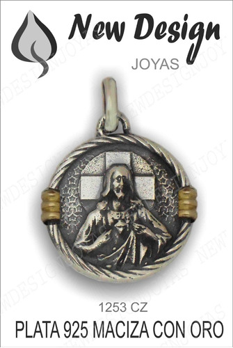 hermoso espiritu santo, religiosas varias en plata 925 y oro