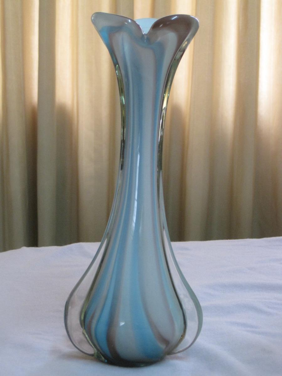hermoso florero de cristal murano s 220 00 en mercado libre. Black Bedroom Furniture Sets. Home Design Ideas