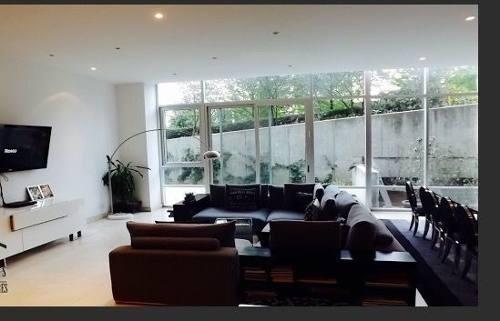 hermoso garden house en secretaria de marina doble altura muy iluminado