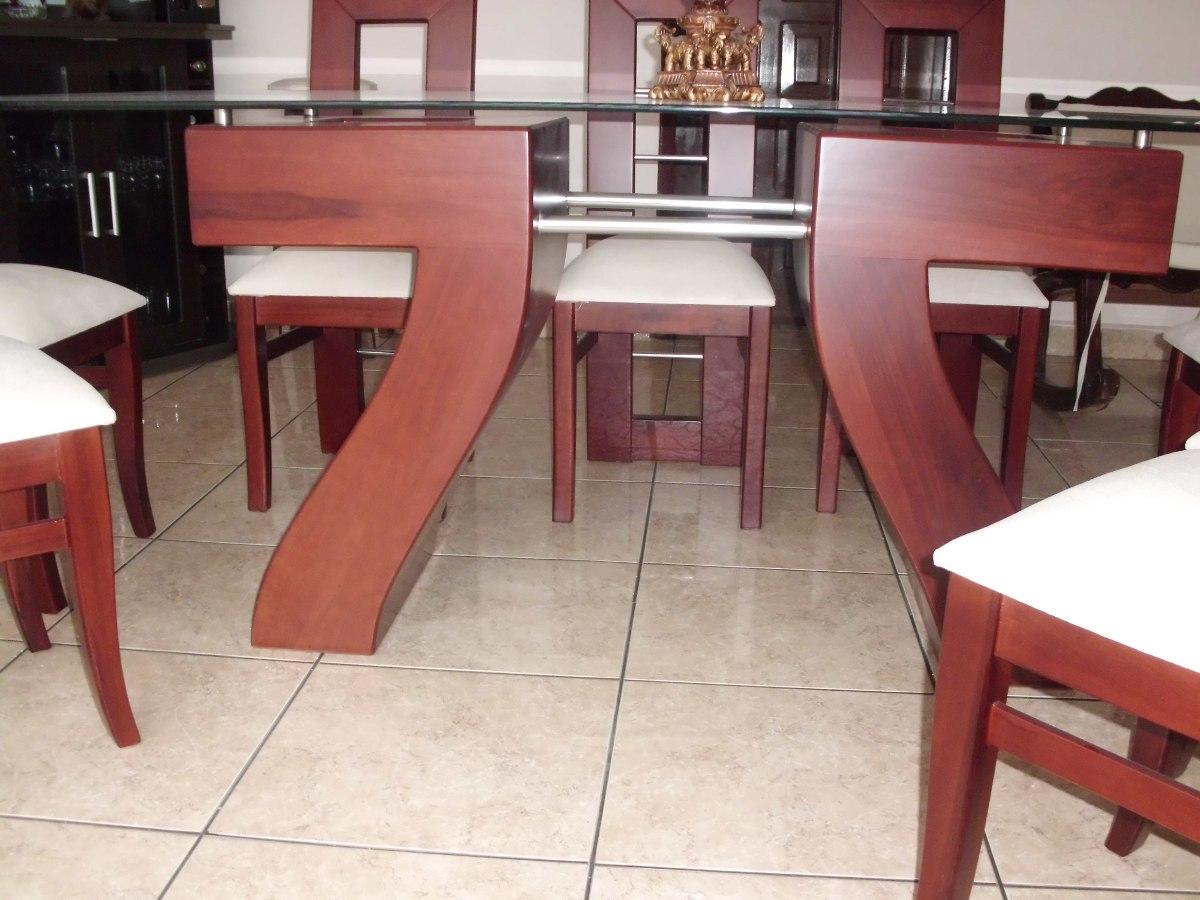 Hermoso juego de comedor con mesa de vidrio u s 520 00 for Juego de mesa y sillas para cocina comedor