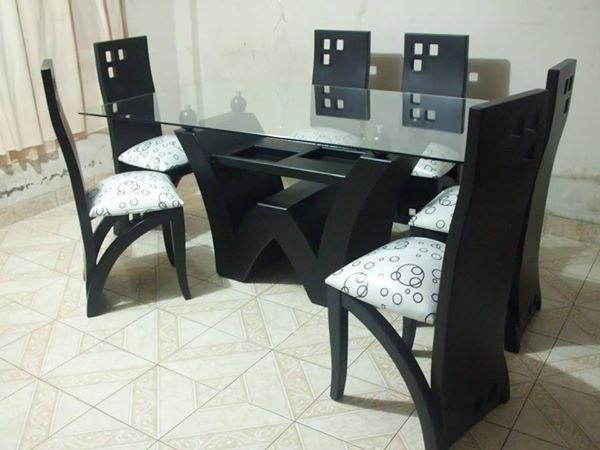 Cuadros para pinturas for Juego de comedor de vidrio