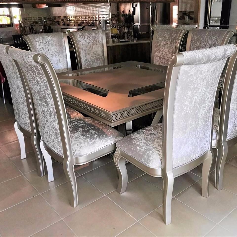 Hermoso Juego De Comedor Moderno Y Elegante - $ 250,000.00 en ...