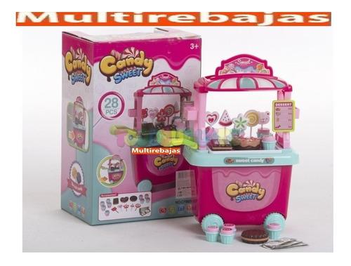 hermoso juguete de niña pastelero