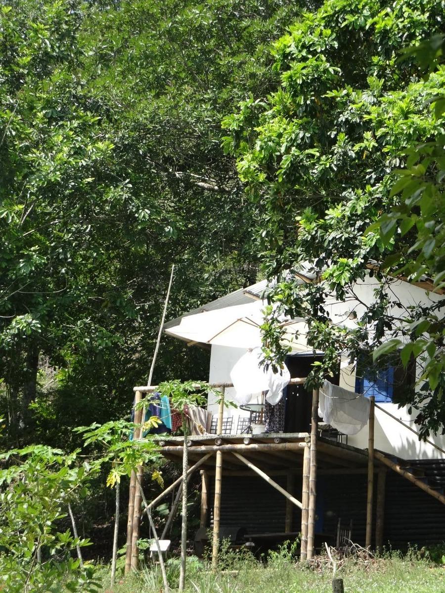 hermoso lote con casa leña verde