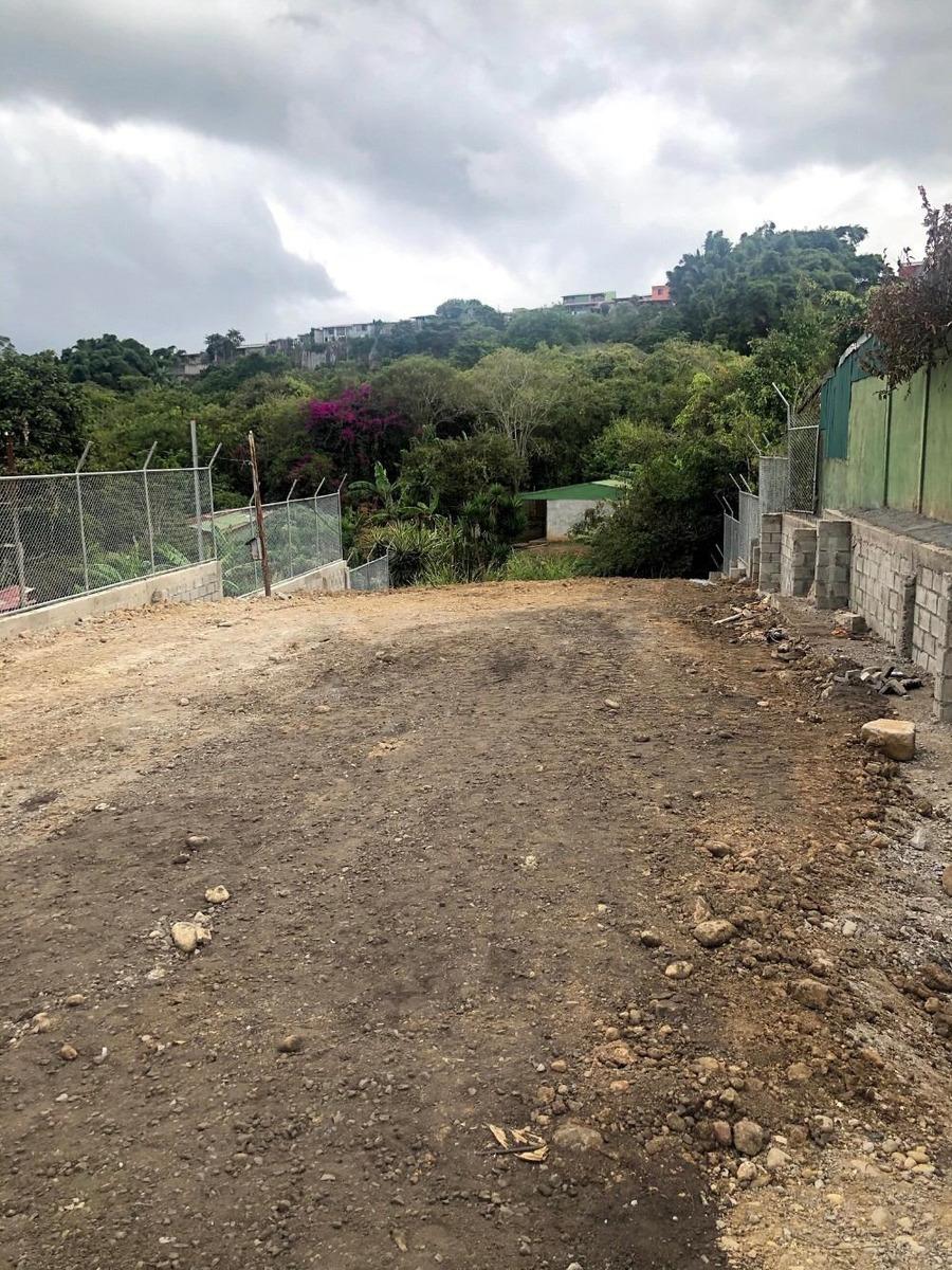 hermoso lote listo para construir trinidad moravia