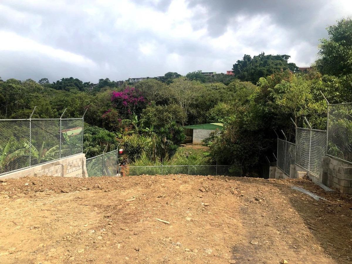 hermoso lote listo para construir trinidad moravia al día,