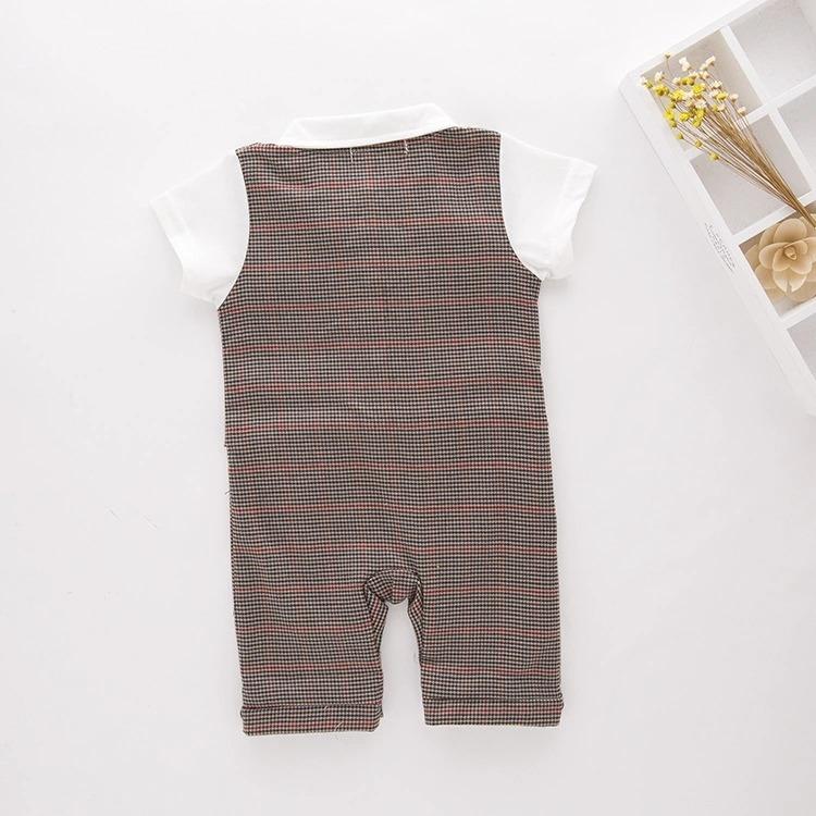 Hermoso Mameluco Traje Elegante Bebé Conjunto -   405.00 en Mercado ... d6900c2eddb